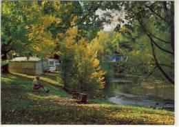 BRIGHT, Victoria, The Bright Caravan Park And Morse's Creek, ... Nice Stamp - Australia