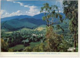BRIGHT, Victoria - A Panorama From Huggin's Lookout  , ... Nice Stamp - Australia
