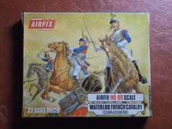 Maquette Plastique - French Cavalry - Cuirassiers Français Waterloo Au H0-00 - Guerres Napoléoniennes - Airfix N°S36-59 - Figurines
