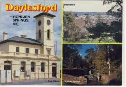 DAYLESFORD - HEPBURN SPRINGS, Victoria - Multi View , ... Nice Stamp , Rose Series PC - Australia