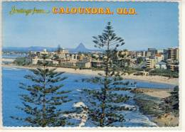 KING's BEACH; CALOUNDRA, Panorma ,   Nice Stamp - Sunshine Coast