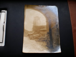WW1, Ruins Of Feuchy Kirche, Arras 1917 - Guerre, Militaire