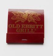Pochette D'allumettes Old Erbitt Grill Washingtown USA