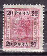 LEVANTE 1903 ANK 44  20 PARA  MIT LACKSTREIFEN, MH* VF - Unused Stamps
