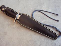 Ancienne Dague Couteau De Lancer Vrai Para - Collection - Armes Blanches