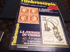Timbroscopie 1985  Numéro Anniversaire - Magazines