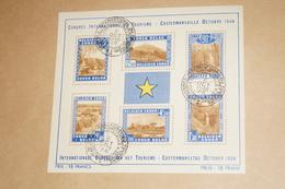 RARE Feuillet Congo Belge,octobre 1938,état Neuf Avec Gomme,Costermansville,collection - Congo - Brazzaville