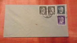 DR 33-45: Klein-Brief Mit 1/1, 4/6 Pfg Hitler Zusammendruck (Blankobeleg) Vom 2.1.45 Knr: S 290 - Deutschland