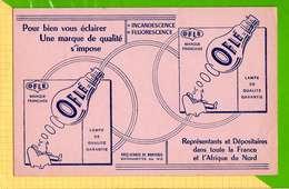 BUVARD & Blotting Paper : Pour Bien Vous Eclairer    Lampes OFLE - Electricité & Gaz