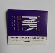 Pochette D'allumettes Pops For Champagne Bar Jazz Club Chicago USA