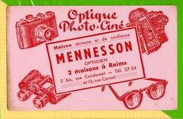 BUVARD & Blotting Paper : Optique PHOTO CINE  MENNESSON REIMS - Cinéma & Théatre