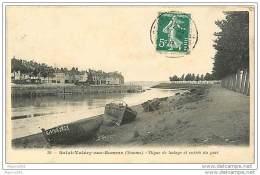 80 SAINT VALERY SUR SOMME - Digue De Halage Et Entrée Du Port - Saint Valery Sur Somme