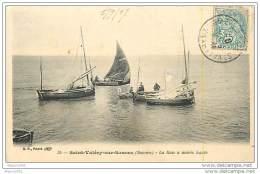 80 SAINT VALERY SUR SOMME - La Baie à Marée Haute - Saint Valery Sur Somme