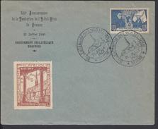 """FR - 1943  """" 500ème Anniversaire  De La Fondation De L'Hotel-Dieu De Beaune - Enveloppe Du Groupement Beaunois - B/TB - - Francia"""