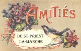 18 - CHER / Fantaisie Moderne - CPM - Format 9 X 14 Cm - ST PRIEST LA MARCHE - Autres Communes