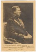 Koning Albert Originele Handtekening à Mr Wagemans Le Devoue President Des Fraternelles Regimentaires - Documents