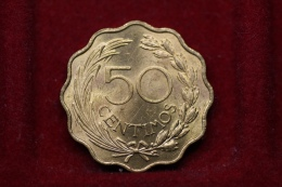 Paraguay 50 Centimos 1953 Km#28 - Paraguay