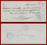 Epinal (82) T13 Du 24/11/ 1839 + PP TB - Marcophilie (Lettres)