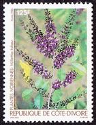 Timbre-poste Neuf** - N° 758 (Yvert) - N° 895 (Michel) - Plantes Ivoiriennes Millettia Takou - RCI 1986 - Ivoorkust (1960-...)