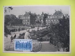 Carte-Maximum    N° 760  Palais Du Luxembourg     1946 - Maximum Cards