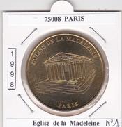 75008  PARIS -  EGLISE DE LA MADELEINE   N° 1  - 1998 - Undated