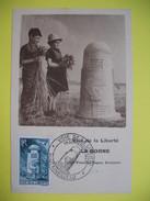 Carte-Maximum    N° 788  Une Des Bornes De La Voie De La Liberté, à Sainte Mère L'Eglise     1947 - Cartas Máxima
