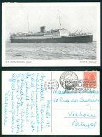 BARCOS SHIP BATEAU PAQUEBOT STEAMER [BARCOS #01455] - NV ROTTERDAMSCHE LLOYD DMS DEMPO - Steamers
