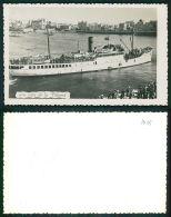 BARCOS SHIP BATEAU PAQUEBOT STEAMER [BARCOS #01459] - UNA VISTA DE LA PALOMA URUGUAY - A IDENTIFIER BATEAU - Steamers