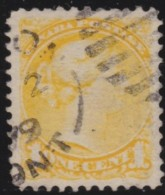 Canada    .       SG     .    92      .        O       .      Gebruikt   .    /    .   Cancelled - 1851-1902 Regering Van Victoria