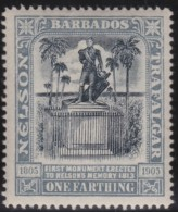 Barbados      .       SG     .    145       .        *     .      Ongebruikt   .    /    .   Mint-hinged - Barbados (...-1966)