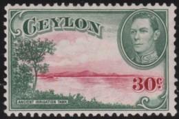 Ceylon     .       SG     .    393a     .        *     .      Ongebruikt   .    /    .   Mint-hinged - Ceylon (...-1947)