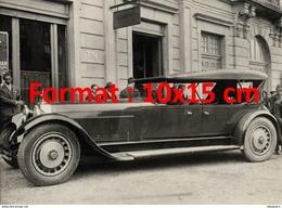 Reproduction D'une Photographie D'une Belle Bugatti Type 41 Royale De 1927 - Reproductions