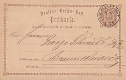DR Ganzsache K1 Bückeburg-Bhf. 7.7.74 - Deutschland