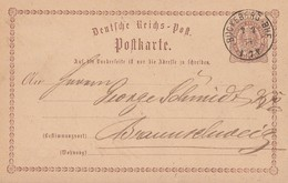 DR Ganzsache K1 Bückeburg-Bhf. 7.7.74 - Briefe U. Dokumente