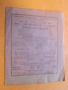 Groupe Anciens Combattants Section Photographique P.Gaillot Q. De Versailles NANTES Prix Courant  Militaria Document/Pub - Documents