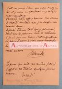 L.A.S 1887 Henri Opper De Blowitz - Journaliste Au TIMES - Né à Blovice Empire D'Autriche - Carte Lettre Autographe LAS - Autographes