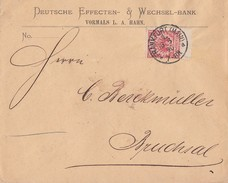DR Brief EF Minr.47 ZW Oben Frankfurt 18.8.90 - Deutschland