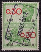 BELGIUM - Revenue Tax STAMP - USED - 0.30 / Lion - Stamps