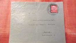 """DR 33-45: Brief Mit 12 Pf Hindenburg Auf Briefvorders. Aus Großröhrsdorf Mit Interess. Motiv-So-St. """"Hauptsitz..""""Knr:552 - Deutschland"""