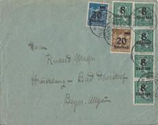DR Brief Mif Minr.5x 278,281,284 München 4.9.23 - Deutschland