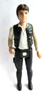 FIGURINE FIRST RELEASE  STAR WARS 1978 HAN SOLO Vers 2 BIG HEAD HONG KONG (2) - First Release (1977-1985)