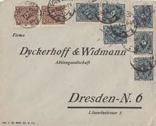 DR Brief Mif Minr.2x 208,6x 209 Chemnitz 27.7.23 - Briefe U. Dokumente