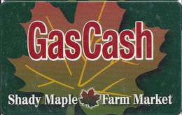 Shady Maple Farm Market - GasCash Card - Type 2 - Other