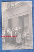 CPA Photo - SANNOIS ( Cachet De Départ ) - Belle Scène Devant Un Magasin - Vers 1910 - TOP - Signé A. Porcher - Sannois