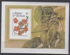 Antigua Et Barbuda 1984 Yvertnr. Bloc 76 ND Ongetand *** MNH  Flore UPU Hamburg - Antigua Et Barbuda (1981-...)