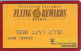 Flying J Rewards Prepaid Calling Card - Preferred Customer Member - RoadLink - Etats-Unis