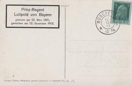 Bayern Sonderkarte Zum Todestag Von Prinz-Regent Luitpold Von Bayern München 12.12.12 - Bayern