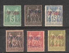 Port - Lagos _( Turquie )  Sage  Série N°1/6 (1893 )