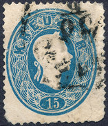 Stamp 1860 15kr Used Lot#21 - Gebraucht
