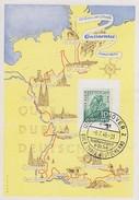 Bizone Sonderkarte EF Minr.106 SST Hannover 9.7.49 Radfernfahrt Quer Durch Deutschland - Bizone